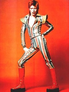David Bowie stopped being D.B. and became Ziggy Stardust in his work and his real life for quite some time.