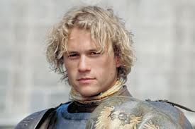 "I'll always remember Heath Ledger mostly for this role. Struck me as ironic what a 180 degree twist on his ""Knight"" image between ""Dark Knight"" and this movie, ""A Knight's Tale"""