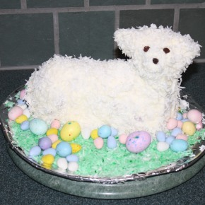 Easter Traditions–Grandma's Lamb Cake