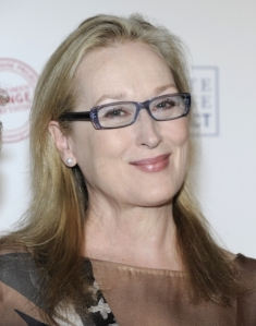 "I simply adore Meryl Streep. She's played some very difficult roles (remember ""Sophie's Choice"") and remains an authentic, shining star."