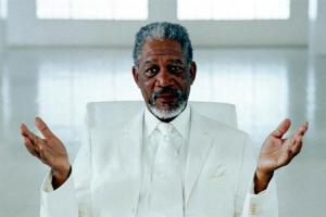 Morgan Freeman has played plenty a challenging role but seems very authentic to me.
