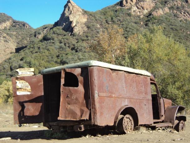 M.A.S.H. Site (current day), Malibu State Park, CA