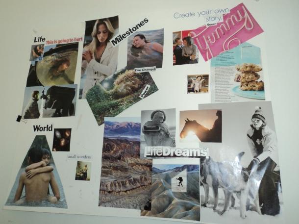 vision board story board