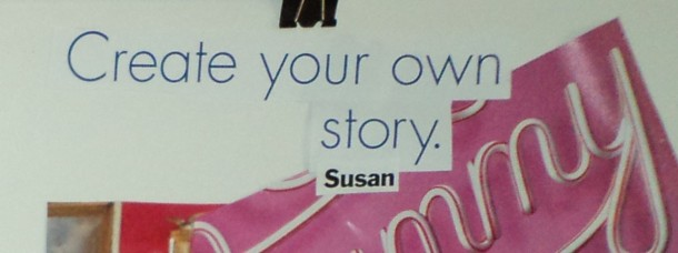Even my story/vision board from 2 years ago was telling me!