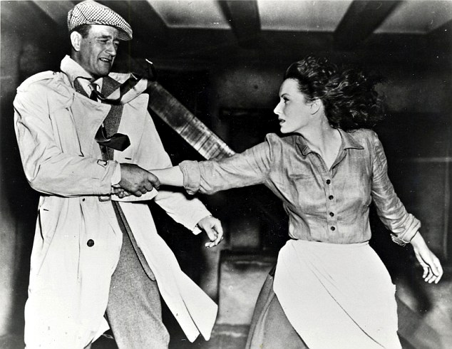 The Quiet Man, John Wayne, Maureen O'Hara, my tings, my things
