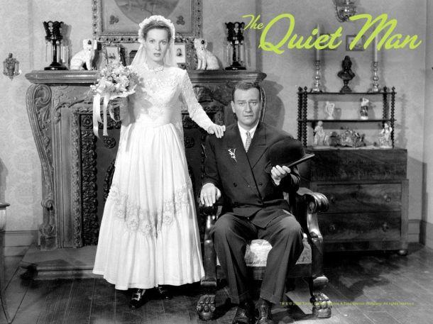 The Quiet Man, John Wayne, Maureen O'Hara, my tings, my things