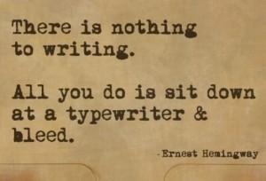 Write and Bleed
