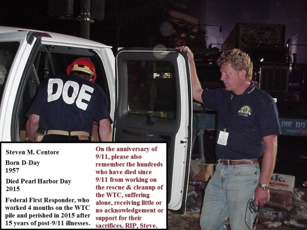 the disregarded of 9/11, WTC cleanup and rescue workers left in the dust, the unsung heroes of 9/11